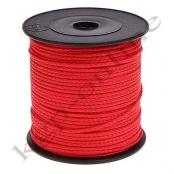 5m PP-Polyesterkordel 1,5mm Rot