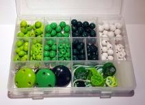 Bastelset für Schnullerketten Grün