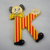 Buchstabe Teddy K