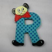 Buchstabe Teddy R