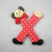 Buchstabe Teddy X