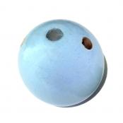 Fädelkörper Rund Babyblau