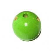 Fädelkörper Rund Apfelgrün