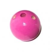 Fädelkörper Rund Magenta ( Pink mo. )