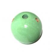 Fädelkörper Rund Mint ( Pastelgrün )