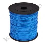 100m PP-Polyesterkordel 1,5mm Blau
