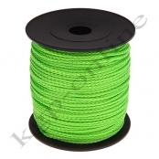 100m PP-Polyesterkordel 1,5mm Hellgrün