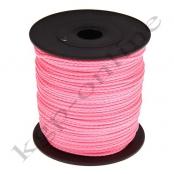 100m PP-Polyesterkordel 1,5mm Rosa