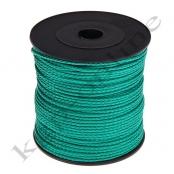 100m PP-Polyesterkordel 1,5mm Smaragdgrün