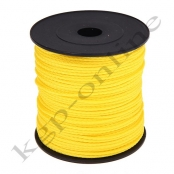 100m PP-Polyesterkordel 1,5mm Gelb