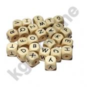 *10 Geprägte Buchstabenwürfel