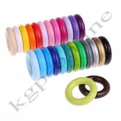 *10x Holzring Mini XS ihrer Farbwahl