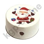*1 x Motiv Scheibe Weihnachtsmann