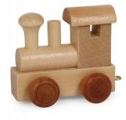 *Buchstabenzug Lokomotive
