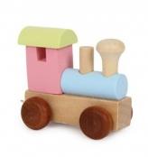 *Buchstabenzug Lokomotive Bunt